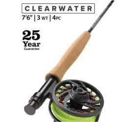 "ORVIS Clearwater® 3-Weight 7'6"" Fly Rod"