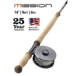 MISSION TWO-HANDED, 9-WEIGHT 14' FLY ROD