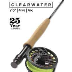 "CLEARWATER® 4-WEIGHT 7'6"" FLY ROD"
