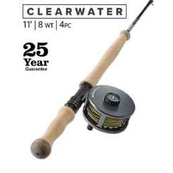 CLEARWATER® 8-WEIGHT 11' FLY ROD