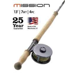 MISSION TWO-HANDED, 7-WEIGHT 13' FLY ROD
